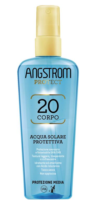 ANGSTROM ACQUA SOLARE PROTETTIVA SPF 20 140 ML - Farmaseller