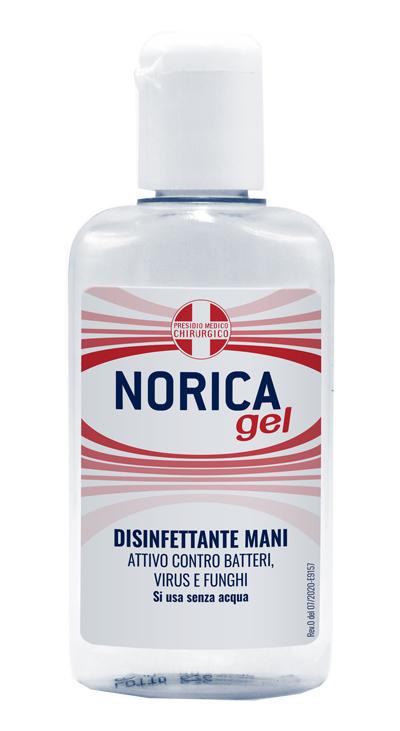 NORICA GEL DISINFETTANTE MANI 80 ML - Farmaseller
