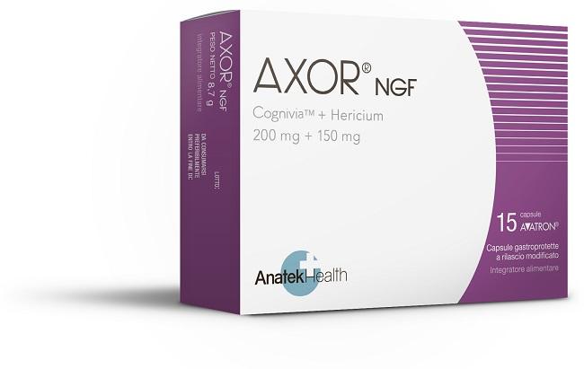 AXOR NGF 15 CAPSULE - Farmaseller