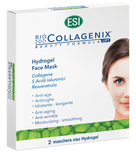 ESI BIOCOLLAGENIX HYDROGEL FACE MASK 2 PEZZI - Parafarmacia Tranchina