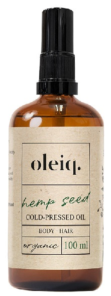 OLEIQ OLIO DI SEMI DI CANAPA 100 ML - Farmacia Castel del Monte