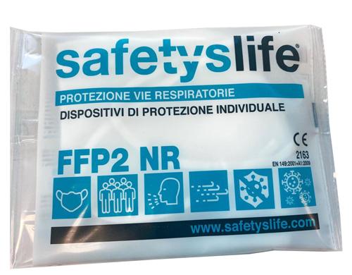 MASCHERINA FFP2 KN95 BIANCA 1 pezzo - Farmacia della salute 360