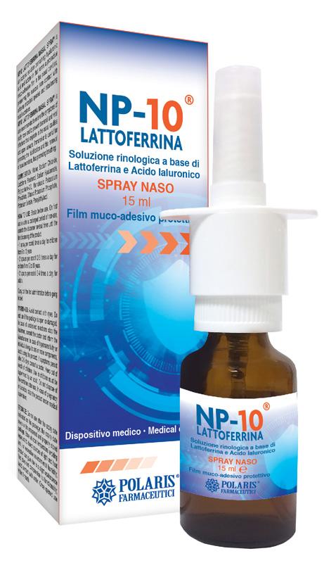 NP-10 LATTOFERRINA SPRAY NASO 15 ML - Farmaseller