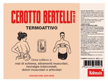 Bertelli Cerotto Med Termoattivo Medio 26 x 12,5cm - Arcafarma.it