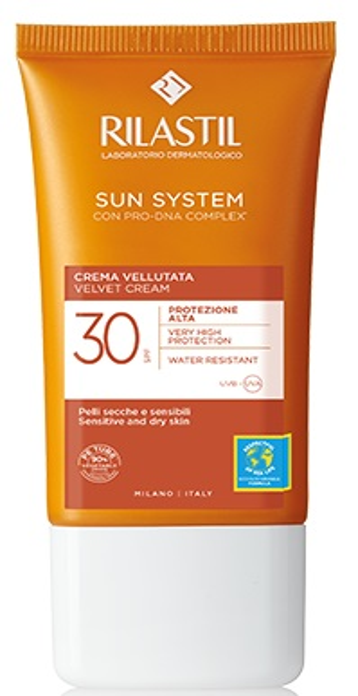 RILASTIL SUN SYSTEM PHOTO PROTECTION TERAPY SPF 30 CREMA VELLUTANTE 50 ML - Farmaseller