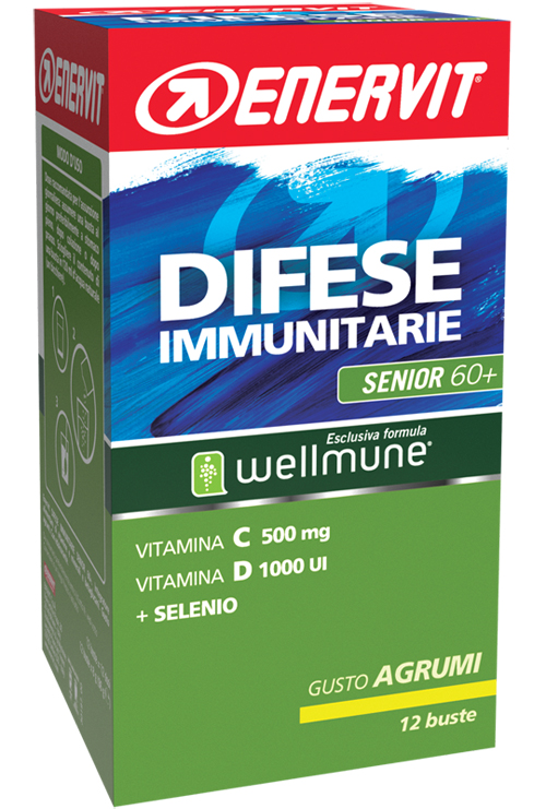 ENERVIT EN DIFESE IMMUNIT SENIOR 60+ - Farmacia Massaro