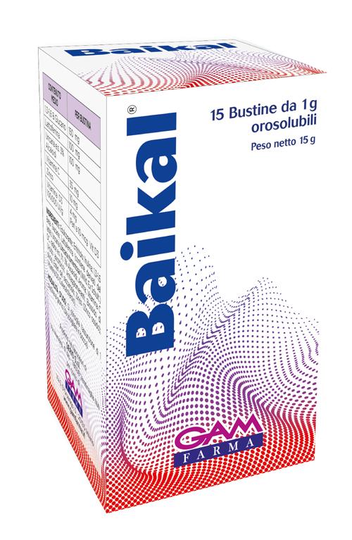 BAIKAL 15 BUSTINE OROSOLUBILI - Farmaseller