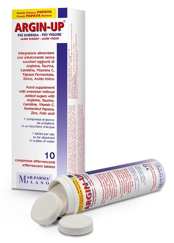ARGIN UP 10 COMPRESSE EFFERVESCENTI - Farmaseller