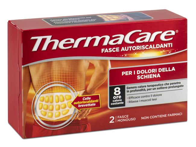 Fasce Autoriscaldanti a Calore Terapeutico ThermaCare Schiena 2 Pezzi - Arcafarma.it