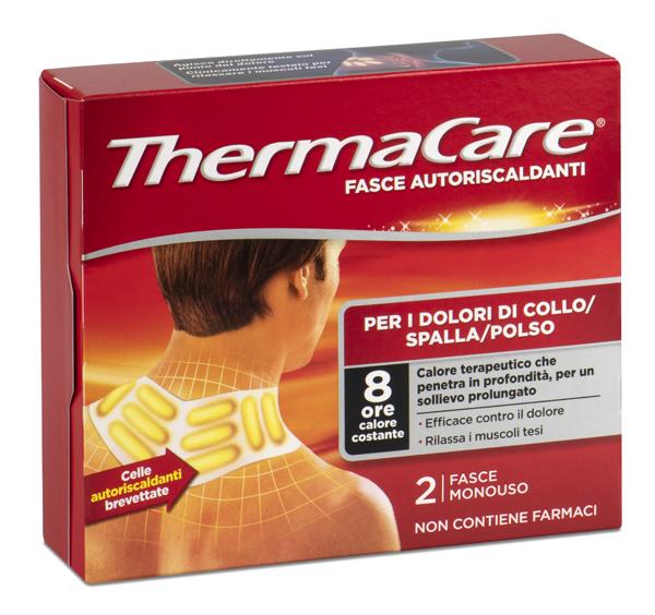 Fasce Autoriscaldanti a Calore Terapeutico Thermacare Collo Spalla Polso 2 Pezzi - Arcafarma.it