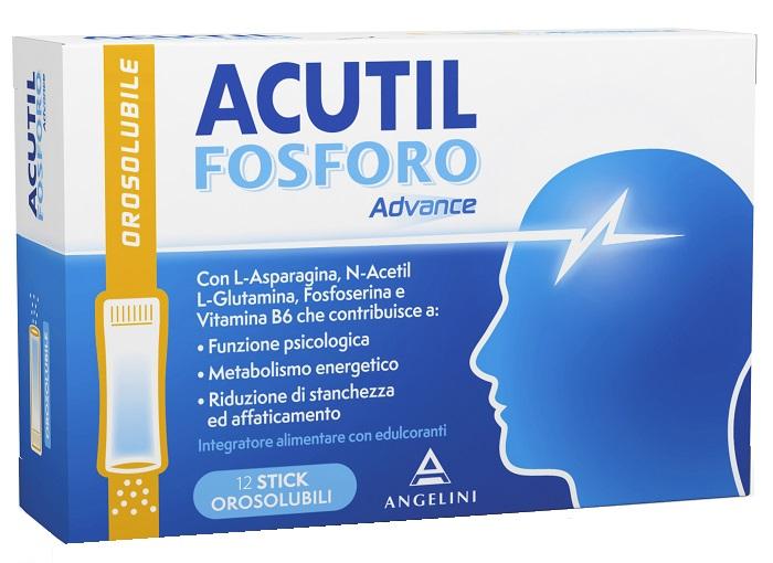 ACUTIL FOSFORO ADVANCE 12 STICK OROSOLUBILI - Farmapage.it