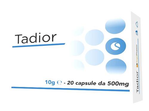 TADIOR 20 CAPSULE - Farmaseller