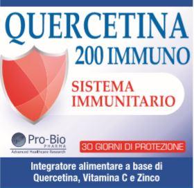 QUERCETINA 200 IMMUNO 30 CAPSULE - farmaciafalquigolfoparadiso.it