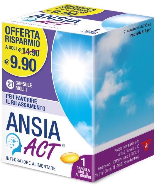ANSIA ACT 21 CAPSULE - Farmalilla