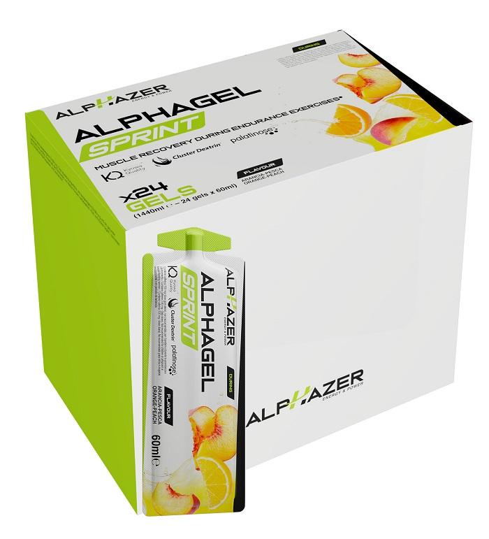 ALPHAGEL SPRINT ARANCIA PESCA 60 ML - Farmaseller