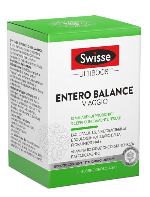 SWISSE ENTERO BALANCE VIAGGIO 10 BUSTINE - Zfarmacia