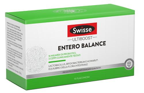 SWISSE ENTERO BALANCE LIQUIDO 10 FLACONCINI - Zfarmacia