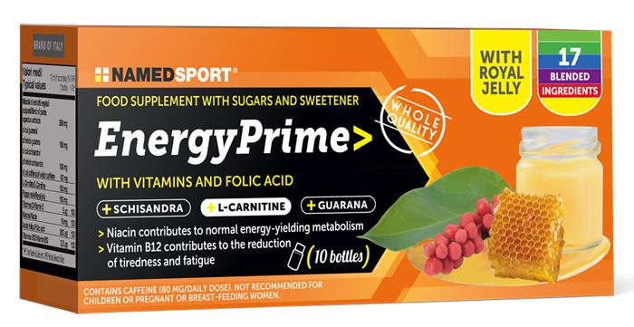 ENERGY PRIME 10 FLACONCINI - Farmaseller