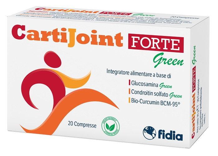 CARTIJOINT FORTE GREEN 20 COMPRESSE - Farmajoy