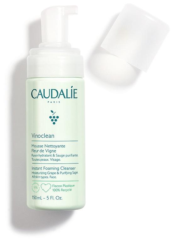CAUDALIE VINOCLEAN SCHIUMA DETERGENTE 150 ML - farmaciadeglispeziali.it