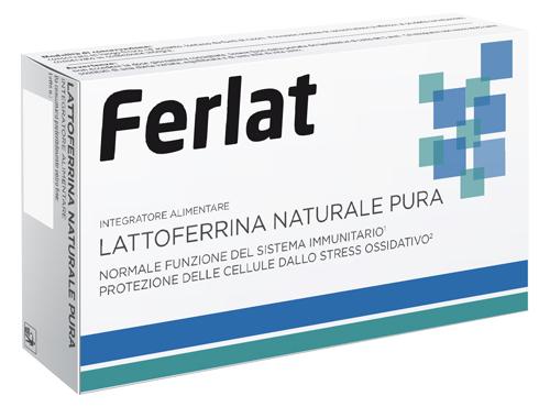 LATTOFERRINA NATURALE PURA 40 COMPRESSE FERLAT - Zfarmacia