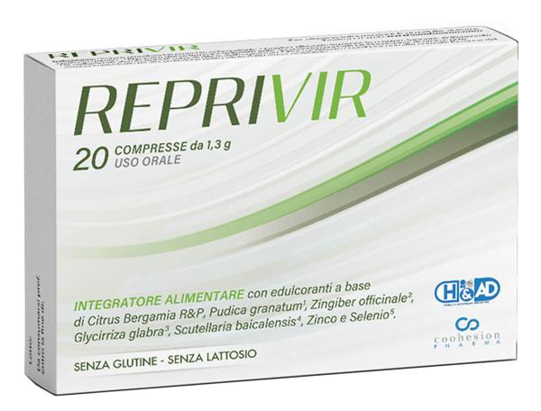 REPRIVIR 20 CAPSULE - Farmaseller