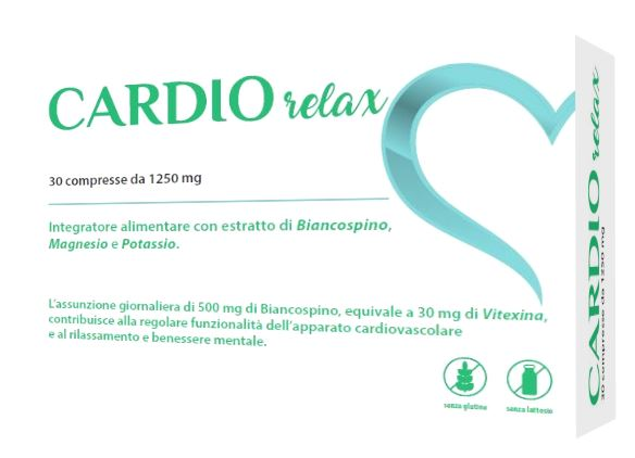 CARDIO RELAX 30 COMPRESSE - Farmaseller