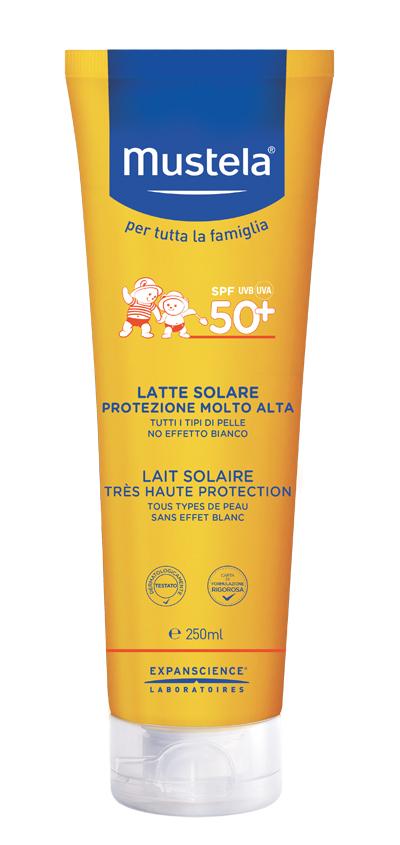 MUSTELA LATTE SOLARE 250 ML 50+ 2021 - Farmaseller