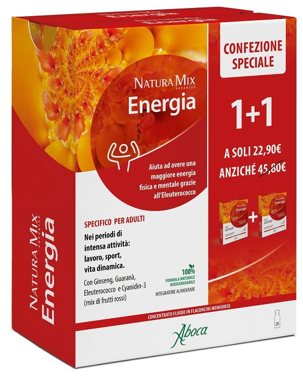 NATURA MIX ADVANCED ENERGIA 10 + 10 FLACONCINI CONFEZIONE SPECIALE - Farmastar.it