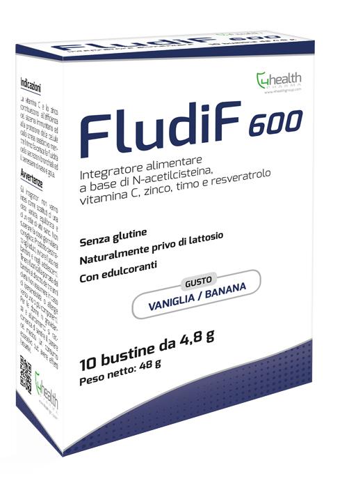 FLUDIF 600 VANIGLIA/BANANA 10 BUSTINE - Farmaseller