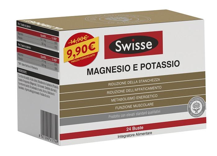 SWISSE MAGNESIO POTASSIO 24 BUSTINE PROMO 2021 - Zfarmacia