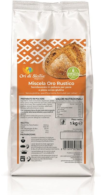 ORI DI SICILIA MIX ORO RUSTICO 1 KG - Farmaseller