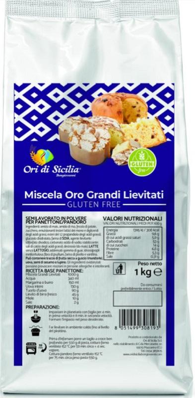 ORI DI SICILIA MIX ORO GRANDI LIEVITATI 1 KG - Farmaseller