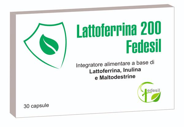 LATTOFERRINA 200 FEDESIL 30 CAPSULE - Farmaseller