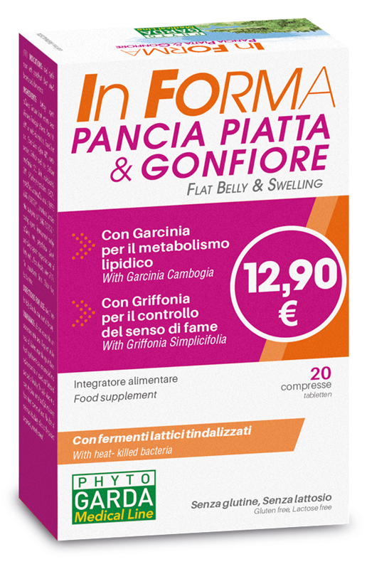 INFORMA PANCIA PIATTA 20 COMPRESSE - FARMAPRIME