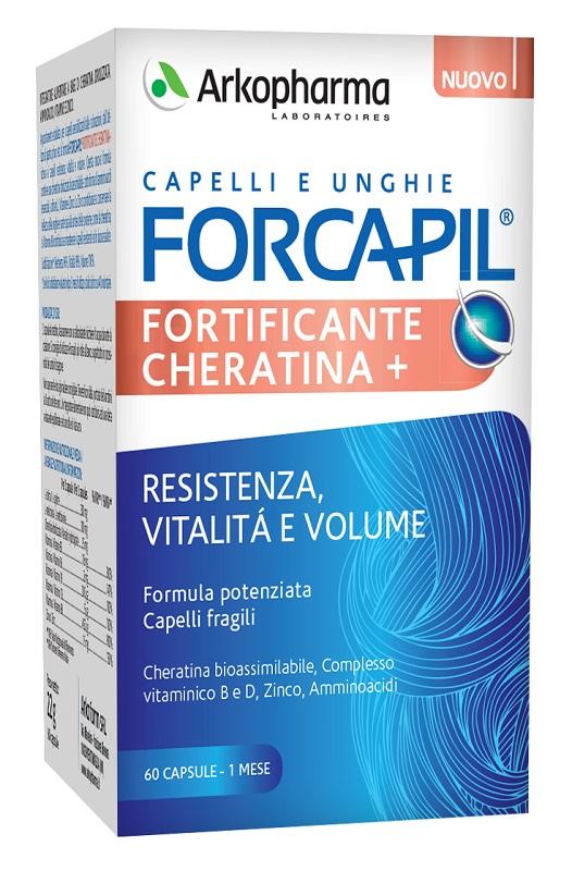 FORCAPIL FORTIFICANTE CHERATINA 60 CAPSULE - Farmaseller