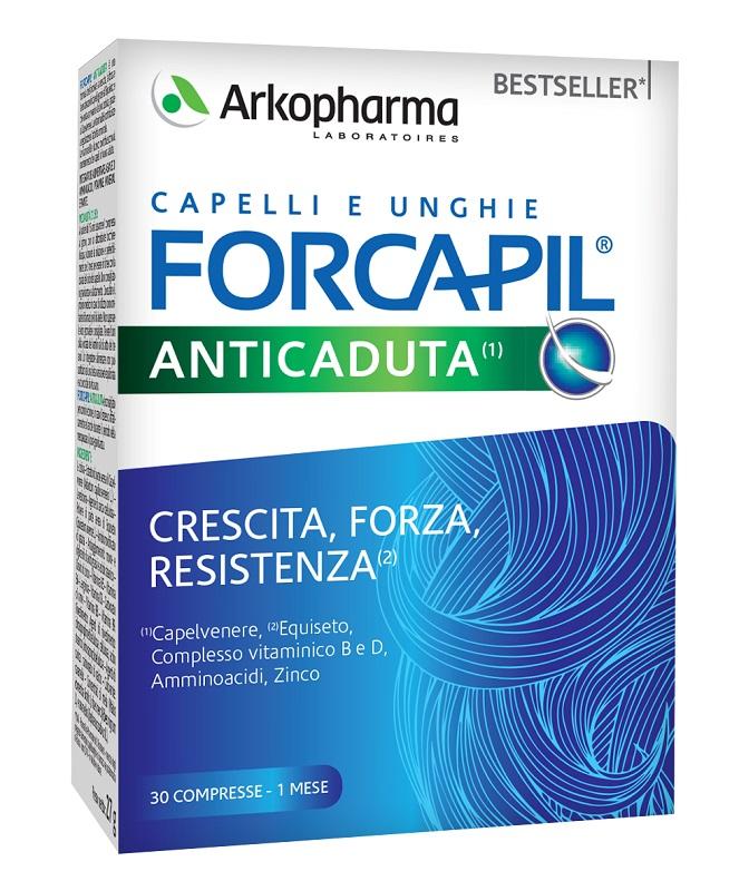 FORCAPIL ANTI CADUTA 30 COMPRESSE - Farmaseller
