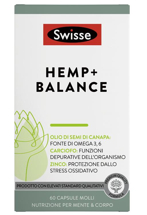 SWISSE HEMP+ BALANCE 60 CAPSULE - Farmaseller