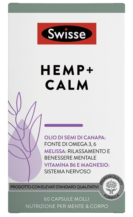 SWISSE HEMP+ CALM 60 CAPSULE - Farmaseller