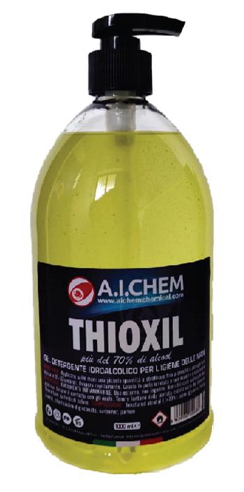 THIOXIL GEL DETERGENTE IDROALCOLICO MANI 1000 ML - Farmacia Bisbano