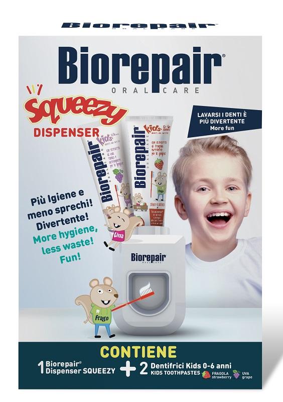 BIOREPAIR SQUEEZE DISPENSER + 2 KIDS 50 ML - Farmafamily.it
