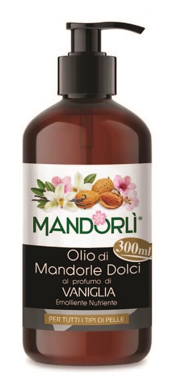 MANDORLI VANIGLIA OLIO CORPO 300 ML - Farmaseller