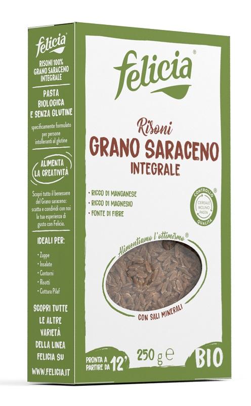 FELICIA RISONI GRANO SARACENO 250 G - Farmaseller