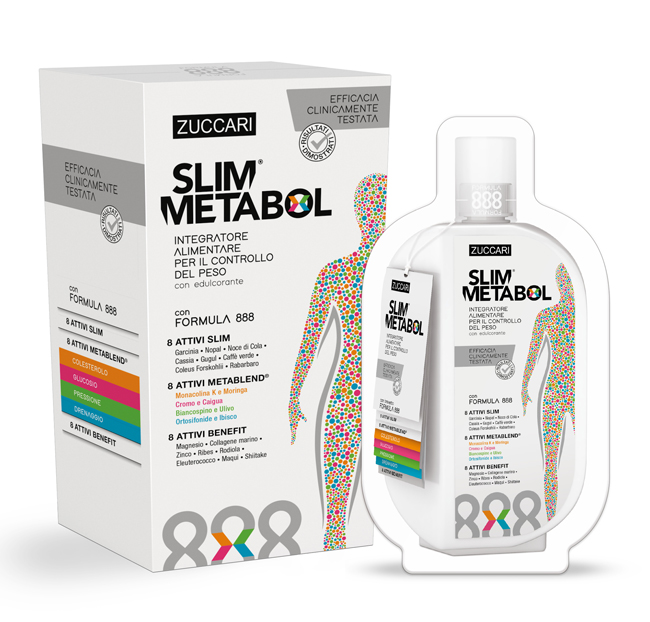 Slim Metabol Monodosi 12 Bustine da 37 Ml - latuafarmaciaonline.it