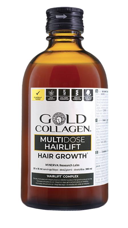GOLD COLLAGEN HAIRLIFT 300 ML - farmaciadeglispeziali.it
