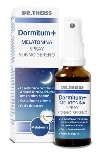 DR THEISS DORMITUM + MELATONINA SPRAY SONNO SERENO 30 ML - Farmaseller