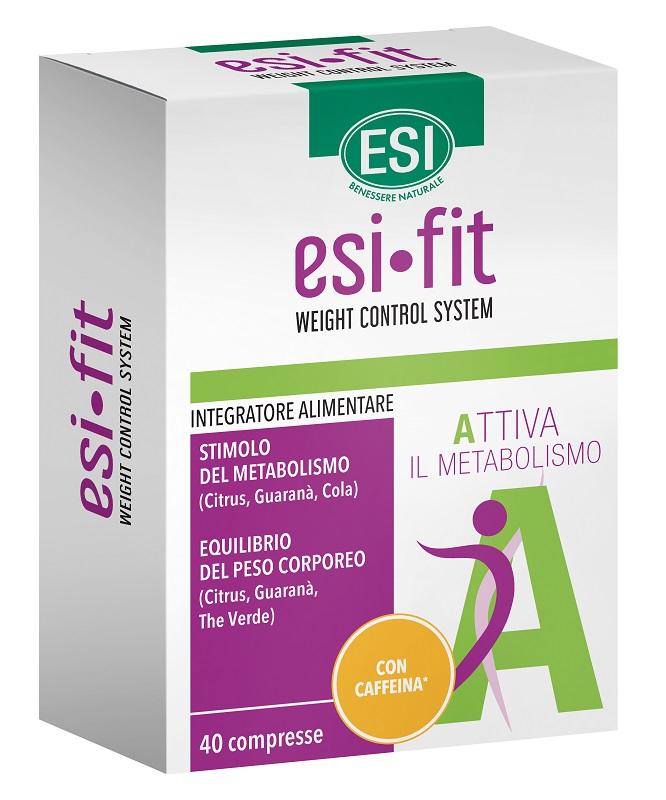 ESI FIT ATTIVA CON CAFFEINA 40 COMPRESSE - Farmafamily.it