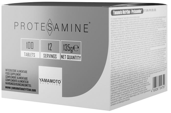 YAMAMOTO NUTRITION PROTESAMINE 100 COMPRESSE - Farmacia Massaro