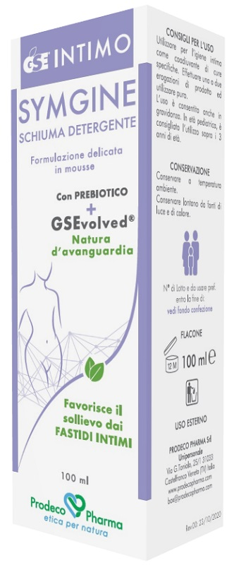 GSE Intimo Symgine Schiuma Detergente 100ml - Arcafarma.it