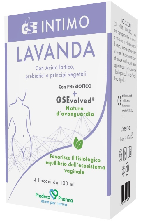 GSE INTIMO LAVANDA 4 FLACONI DA 100 ML - Farmaseller